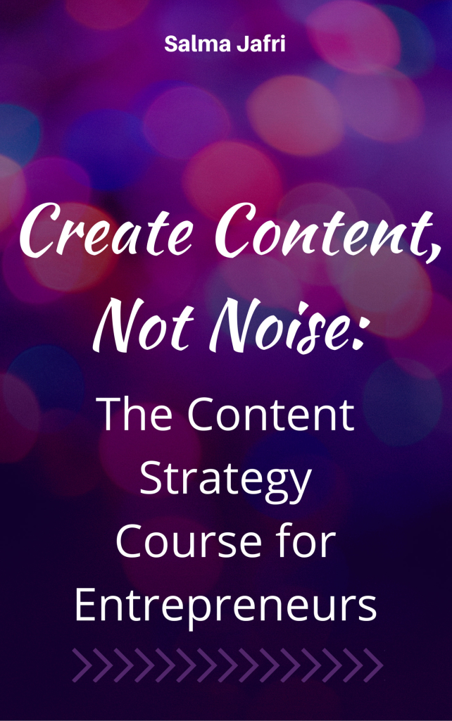 Content Strategy Course for Entrepreneurs